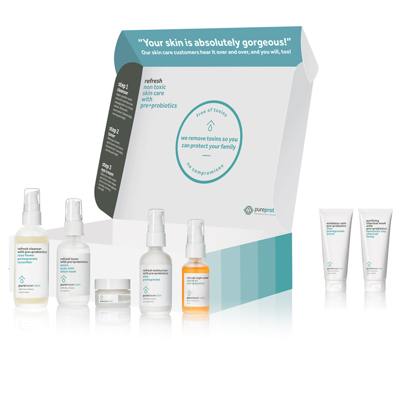 Non-Toxic Skin Care Bundle-Removes 135 toxins